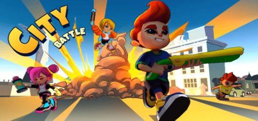 City Battle: Battle lands royale - combat of hero