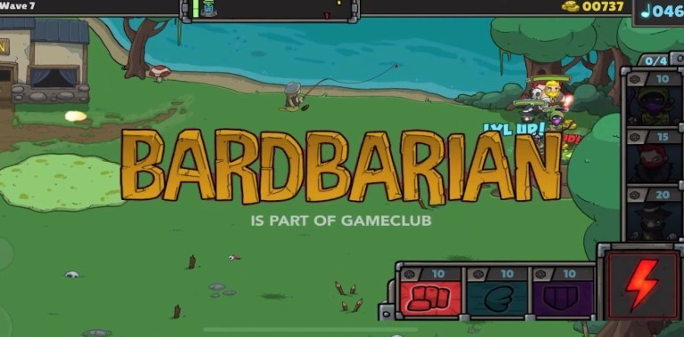 Barbarian: Tower Defense, RPG, Shmup, Rock & Roll