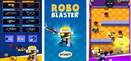 ROBO BLASTER: Guns! Shoot! Boom!
