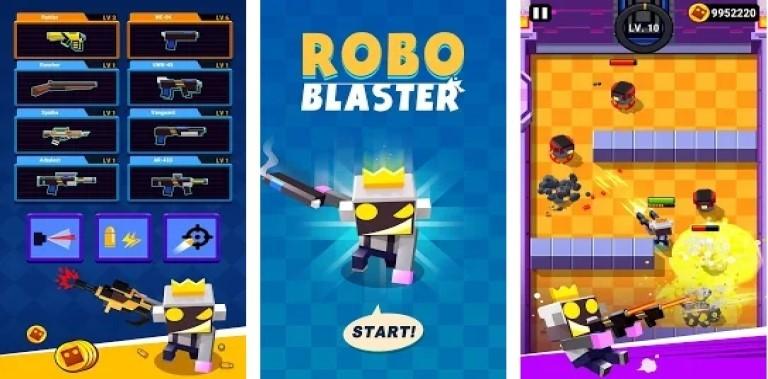 ROBO BLASTER: Guns! Shoot! Boom!