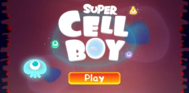 Super Cell Boy - Cute idol arcade space shooter
