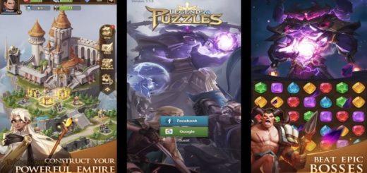 Legends & Puzzles: RPG Match3