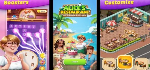 Alice's Restaurant - Fun & Relaxing Word Game