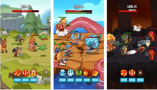 Semi Heroes 2: Endless Battle RPG Offline Game