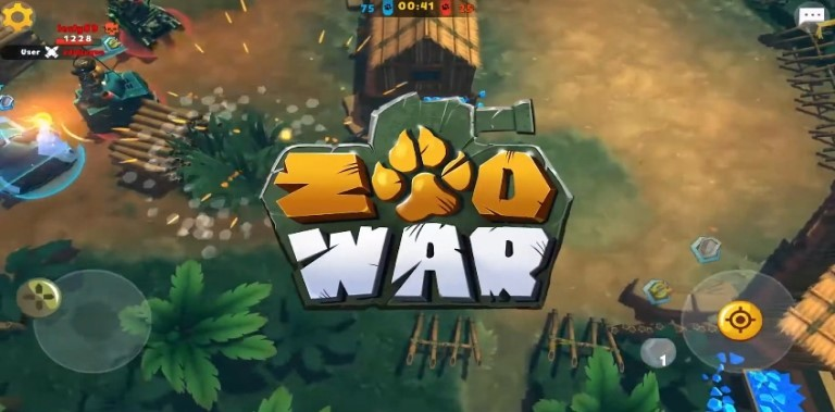 Zoo War: Tanked Guns 3v3
