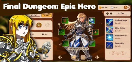 Final Dungeon: Epic Hero, Magic Legends, Roguelike