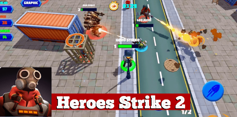 Heroes Strike 2: MOBA and Battle Royale
