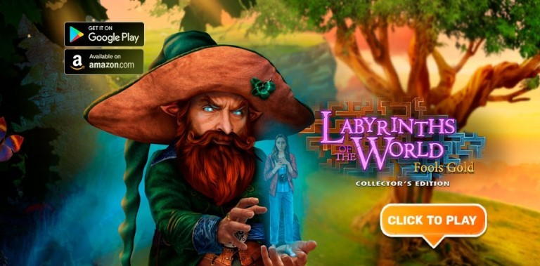 Hidden Objects - Labyrinths of World: Gold