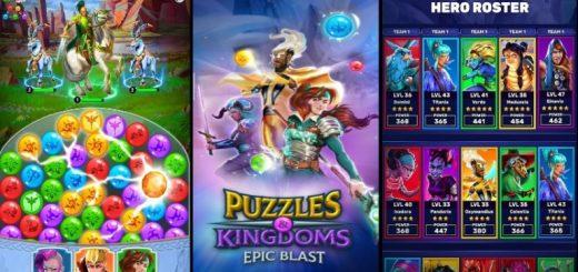Puzzles & Kingdoms: Epic Blast