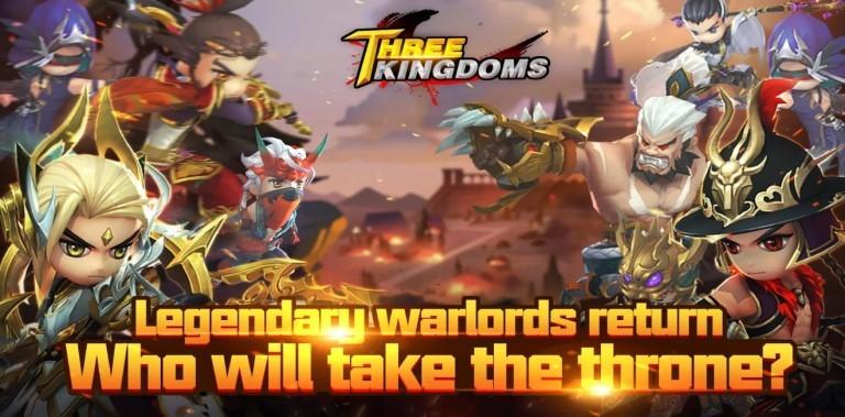 Three Kingdom : mighty super hero