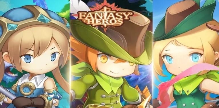 Fantasy Heroes : Idle RPG Game