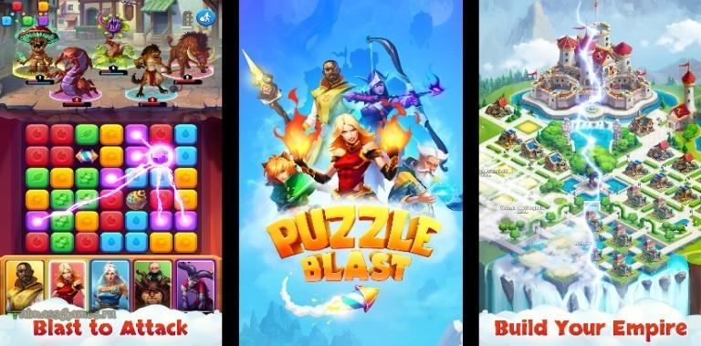 Puzzle Blast - RPG Quest