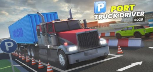 Port Truck Driver: New Parking Games 2020