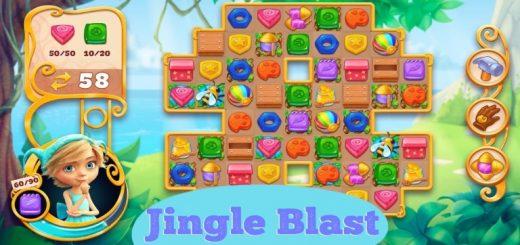 Jingle Blast-match 3 games 2020 & puzzle adventure