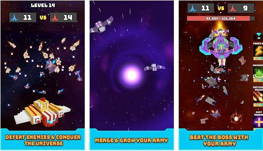Merge Battleship: Galaxy Army PvP Battle Simulator