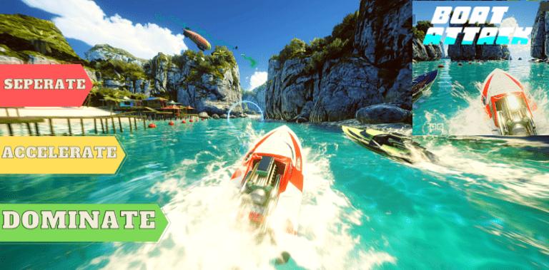 Boat Attack: Jet Ski Racing
