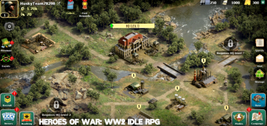 Heroes of War: WW2 Idle RPG