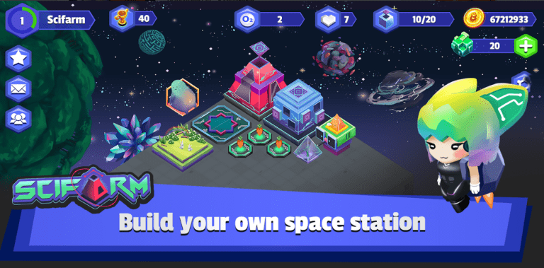 Scifarm - Space Farming and Zoo Management Game