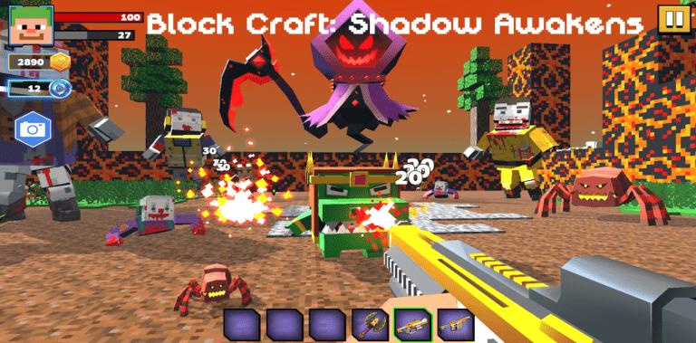 Block Craft: Shadow Awakens