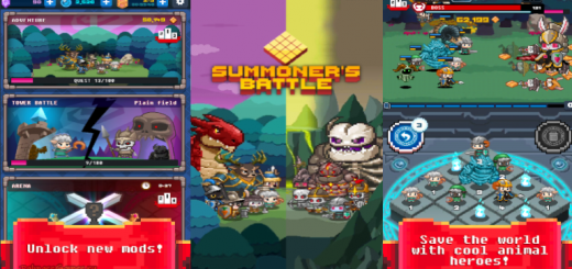 Summoner's Battle 2048