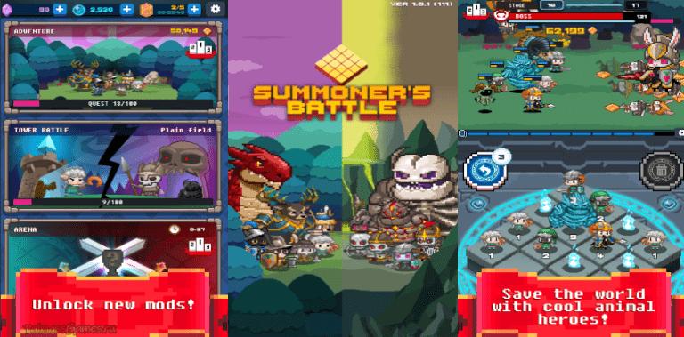 Summoner's Battle 2048
