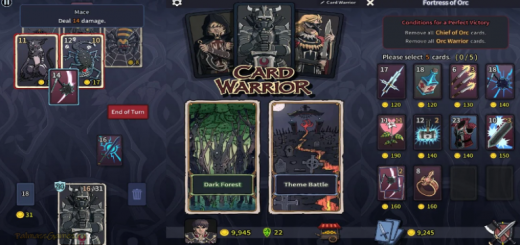 Card Warrior: Deck Building RPG