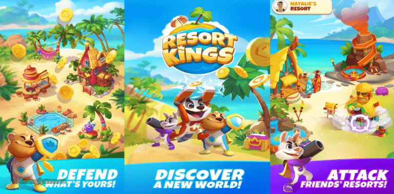 Resort Kings: Raid Attack and Build your Resorts