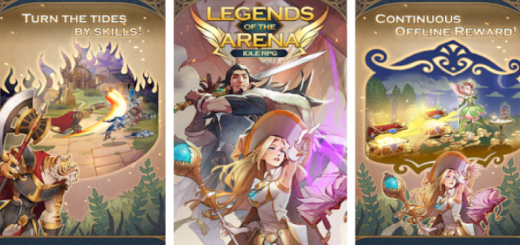Legends of the Arena : idle RPG