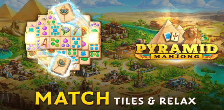 Pyramid of Mahjong: A tile matching city puzzle