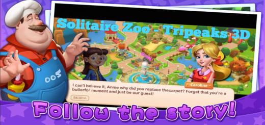 Solitaire Zoo - Tripeaks 3D