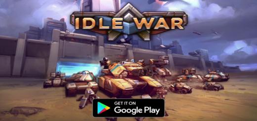 Idle War Heroes - Tank Tycoon