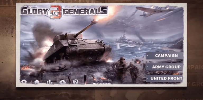 Glory of Generals 3