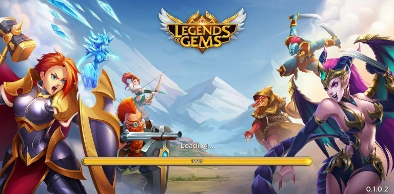 Legends of Gems: Epic Match 3 Puzzle RPG
