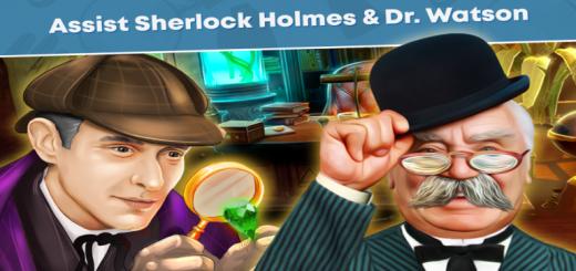 Sherlock Holmes & Watson Hidden Objects Game