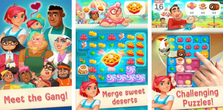 Love & Pies - Delicious Drama Merge & Match