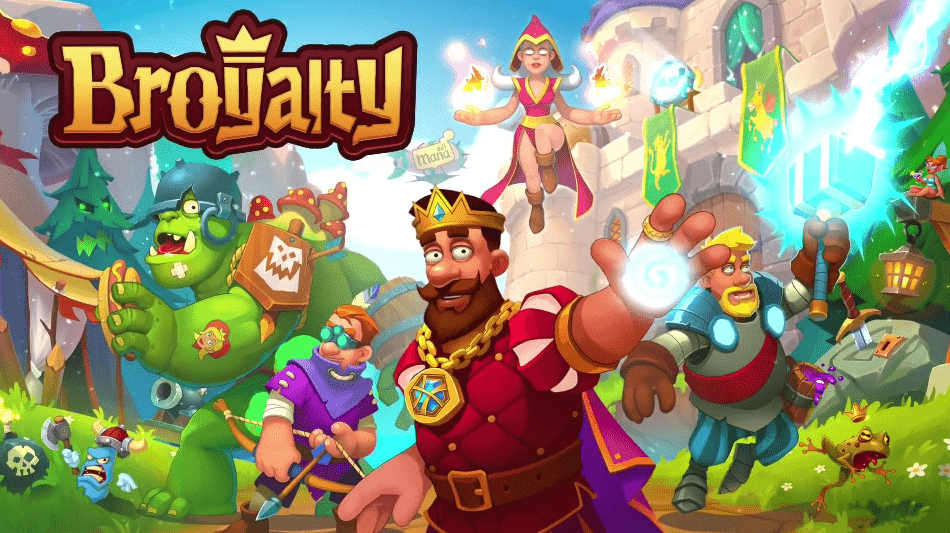 Broyalty – Medieval Kingdom Wars, RPG War Strategy