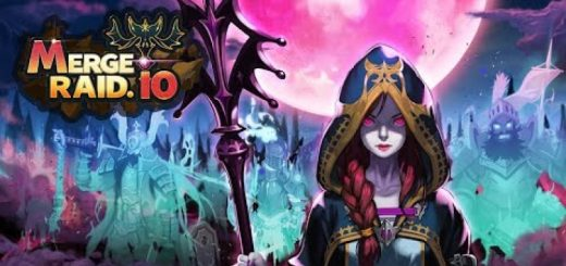 Merge Raid.io - Necromancer Story