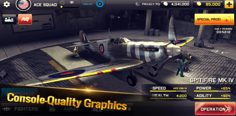 Ace Squadron: WW II Air Conflicts