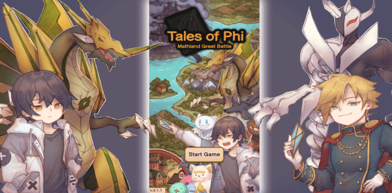 Tales of Phi: Math land Great Battle (Monster RPG)