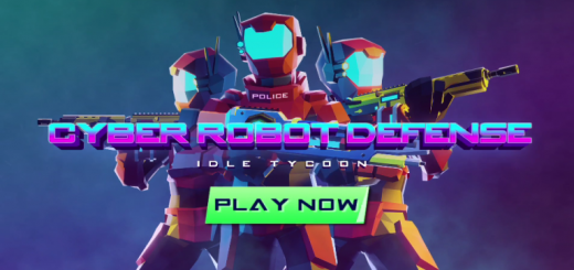 Cyber Robot Defense - Idle Tycoon