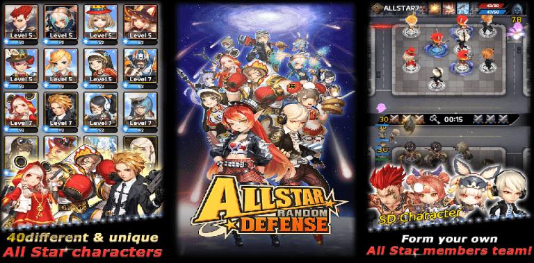 ALLSTAR RANDOM DEFENSE: Party play Tower Defence