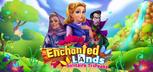 Enchanted Lands: Solitaire TriPeaks Renovation