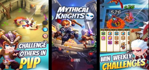 Mythical Knights: Endless Dungeon Crawler RPG