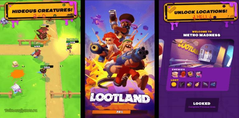Lootland shoot, loot, WIN!