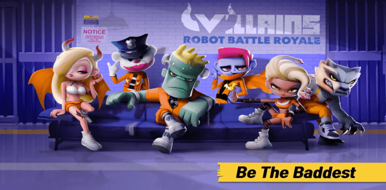 Villains : Robot Battle Royale