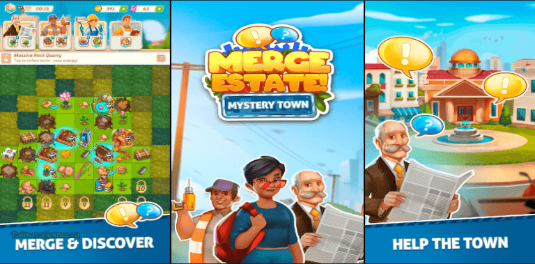 Merge Estate! Mystery Town