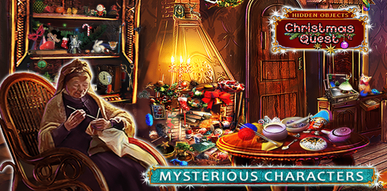 Hidden Objects: Christmas Quest