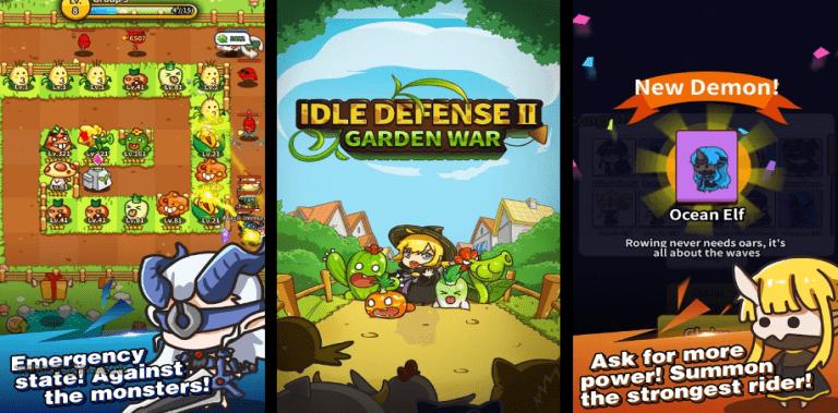 Idle Defense II : Garden War