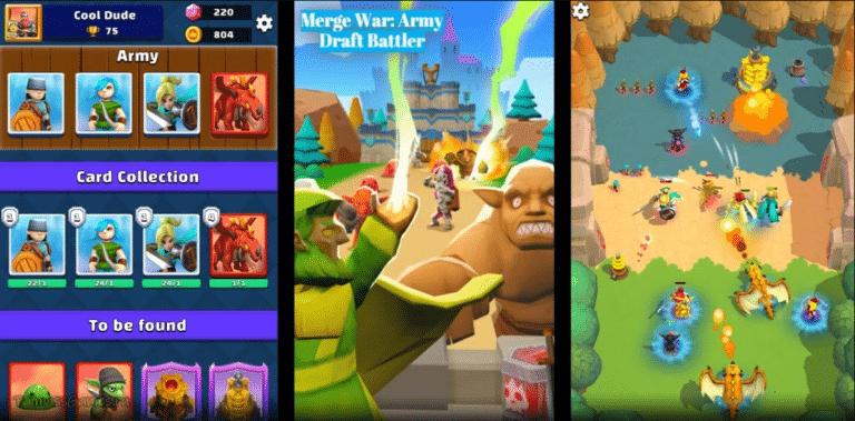 Merge War: Army Draft Battler