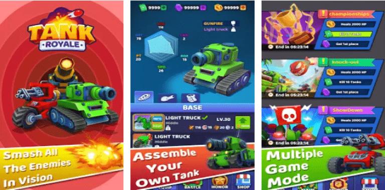 Tank Royale-Online IO howling Tank battle game